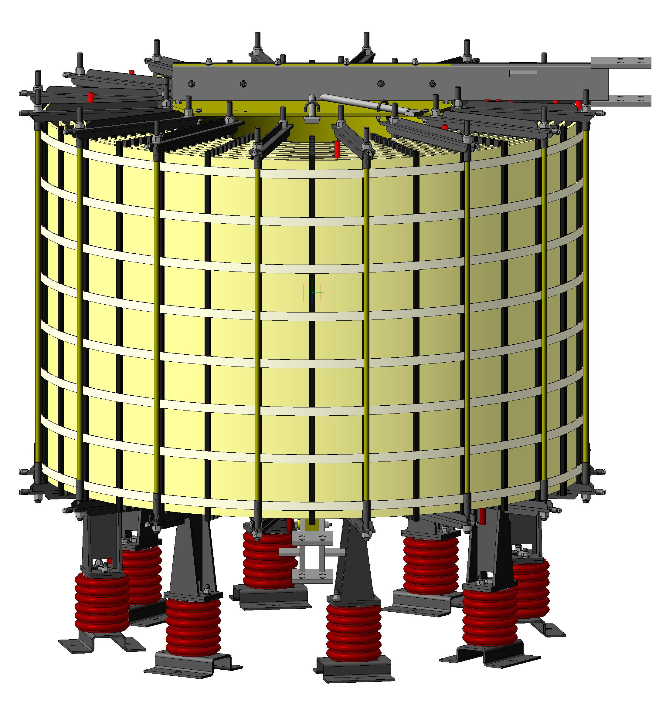 6-110 kV Dry current-limiting reactors РТОС, РТСТ, РТСТГ, РТСТУ types.