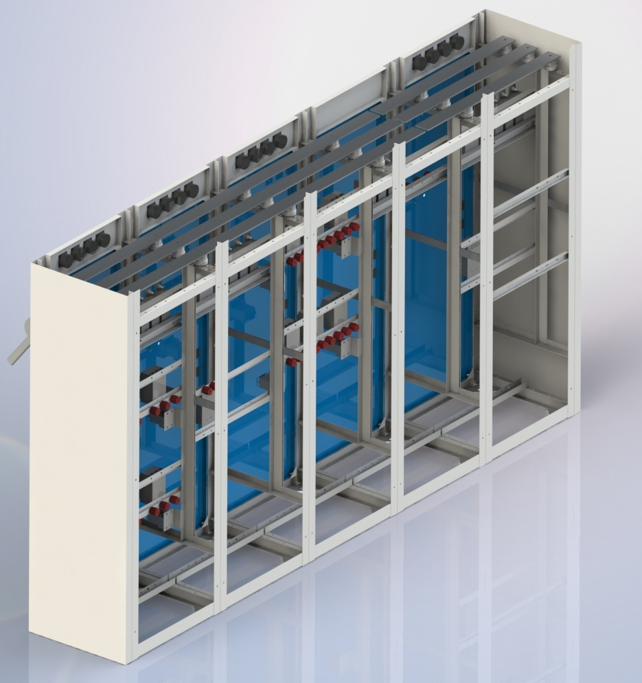 Switchboards below 1kV  - ЩО-90, ЩО-70 distributing panels