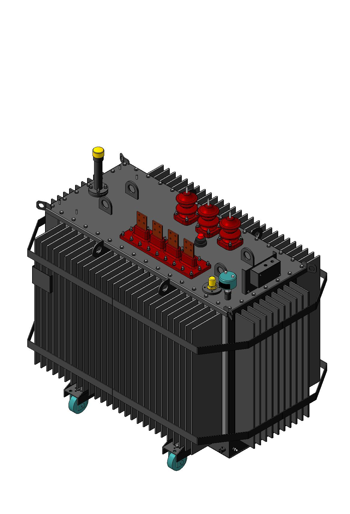 6-10kV Three-phase oil-immersed two-windings power transformers ТМГ type