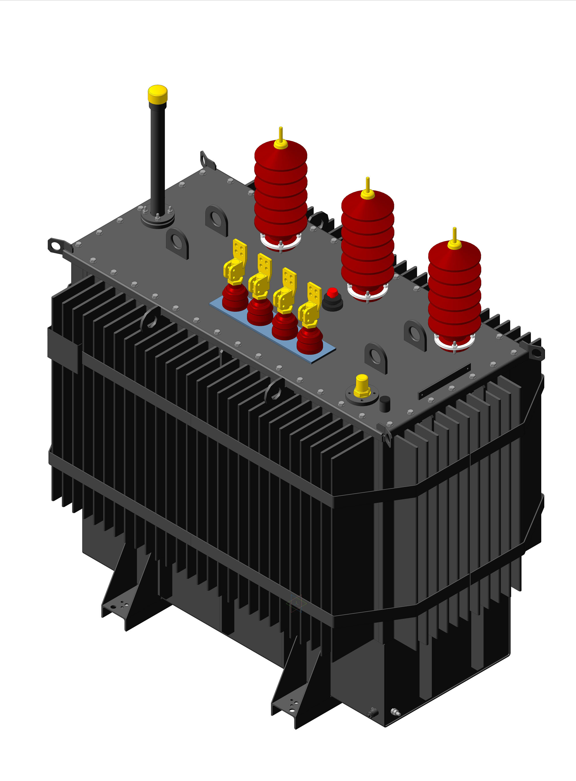 27,5-35kV Three-phase oil-immersed power transformers ТМ, ТМГ type
